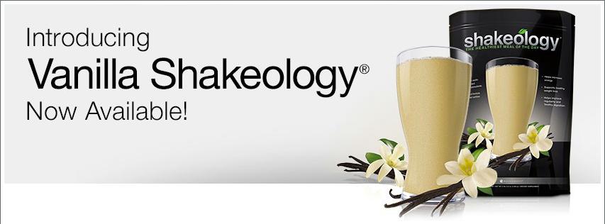 Vanilla Shakeology